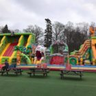 Inflatable children's fun park