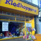 Klodhoppers shop front.