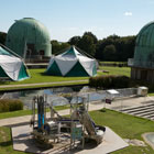 The grounds and buildings of The Observatory Science Centre
